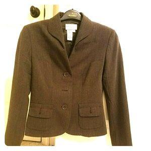 Max studio blazer size 6